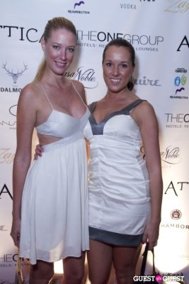 katie gall in Attica 2nd Anniversary -- White Party