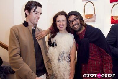 katie grand in Longchamp/LOVE Magazine event