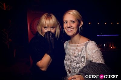 katie klencheski in Taka Taka: Mexican Sushi + Japanese Tacos Day of the Dead Grand Opening
