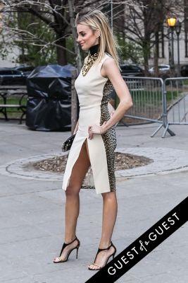 katie nehra in Vanity Fair's 2014 Tribeca Film Festival Party Arrivals