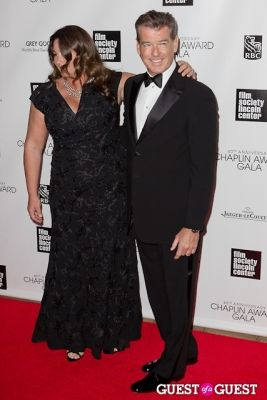 pierce brosnan in 40th Annual Chaplin Awards honoring Barbra Streisand