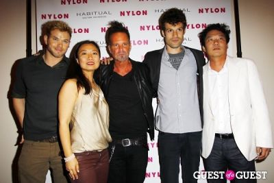 luke crisell in NYLON Music Issue Party