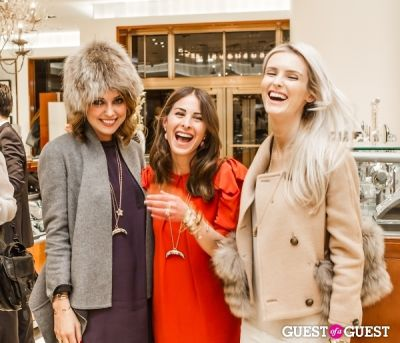 danielle frankel in Phillips House Event With Kate Davidson Hudson and The Glamourai