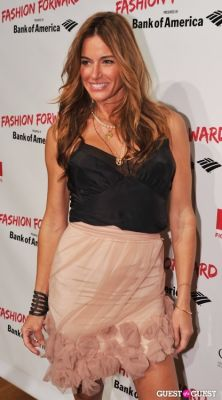 kelly bensimon in Fashion Forward hosted by GMHC