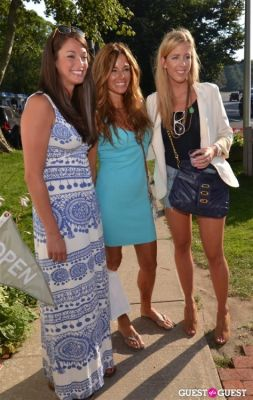 kelly bensimon in Minnie Rose by designer Lisa Shaller Goldberg event hosted by Kelly Bensimon