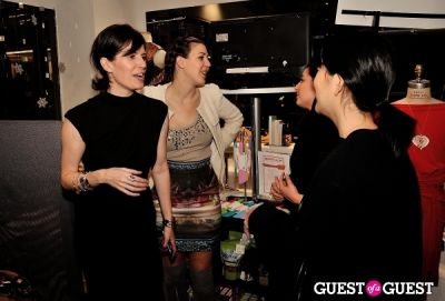 liza kindred in All That Glitters Is Silver And Gold Holiday Party