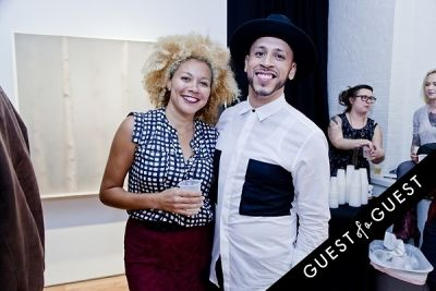 kelly marshall-and-anoa-xavier-torres in ART Now: PeterGronquis The Great Escape opening