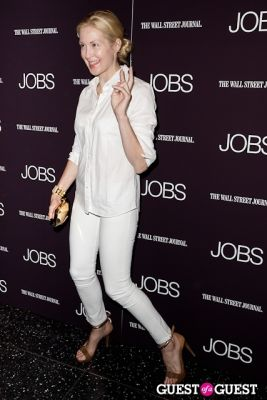 kelly rutherford in Jobs (The Movie) Premiere