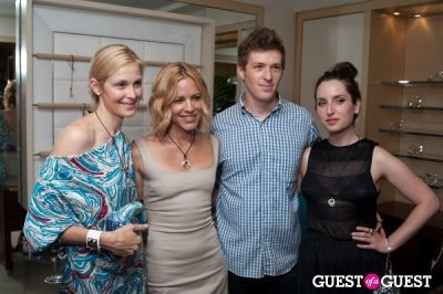 kelly rutherford in Judith Leiber's Haiti Pendant Initiative
