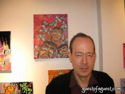 ken emerson in Damon Johnson Gallery Opening