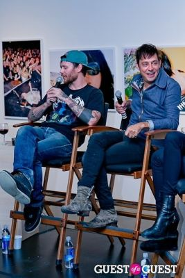 jamie hince in ARTIST TALK: The Kills and Kenneth Cappello Moderated by Kate Lanphear