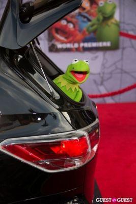 kermit the-frog in Premiere Of Disney's