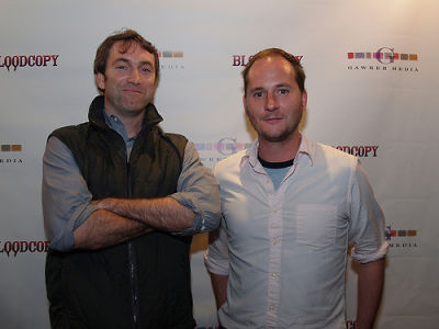kevin kearney in Gawker Blood Copy Party