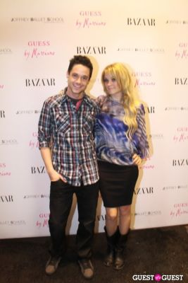 kevin manno in Guess by Marciano and Harper's Bazaar Cocktail Party