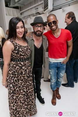 kevin richardson in Tyler Shields and The Backstreet Boys present In A World Like This Opening Exhibition