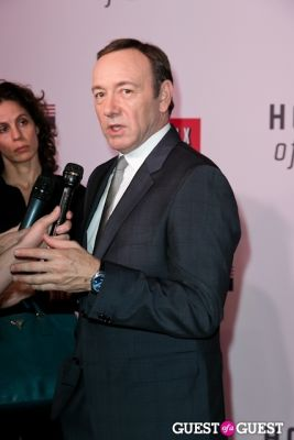 kevin spacey in Netflix Presents the House of Cards NYC Premiere