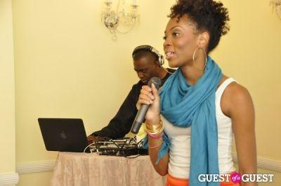 khalilah davis in Shea Radiance Target Launch Party