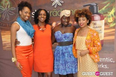 korto momolu in Shea Radiance Target Launch Party