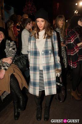 kiara schwartz in NYC Fashion Week FW 14 Street Style Day 5