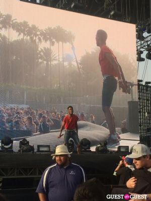 kid cudi in Coachella 2014 -  Weekend 1