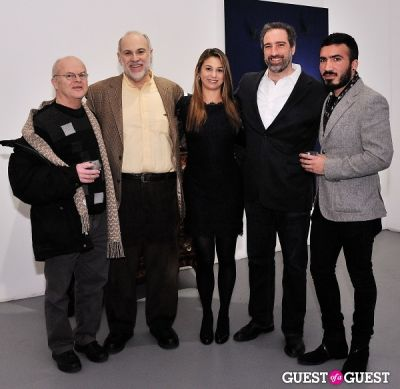kim keever in Retrospect exhibition opening at Charles Bank Gallery
