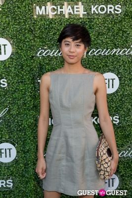 kim nguyen in Michael Kors 2013 Couture Council Awards