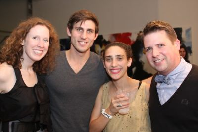 ben brown in Miami in New York: Party at the Chelsea Art Museum