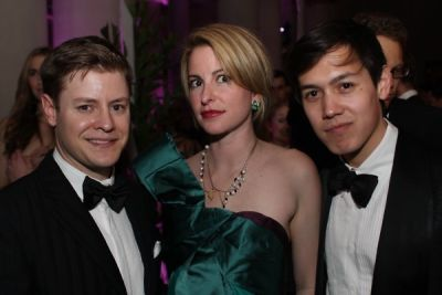 kipton cronkite in Young Fellows of the Frick with the Diamond Deco Ball