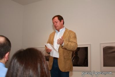 knut -brundtland in Opening Party for Stuart Franklin: The Dogon