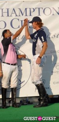 kris kampsen in Bridgehampton Polo-Support Hope, Help & Rebuild Haiti (HHRH)