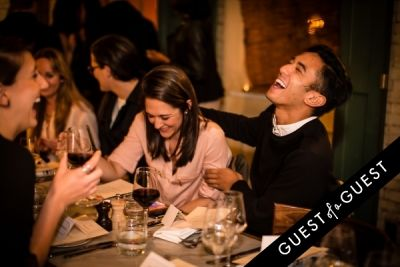 chris legaspi in Guest of a Guest's Yumi Matsuo Hosts Her Birthday Dinner At Margaux At The Marlton Hotel