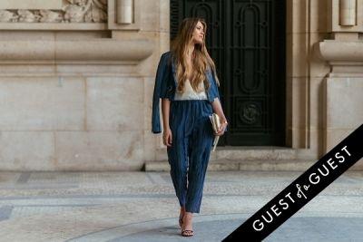 kristina bazan in Paris Fashion Week Pt 4