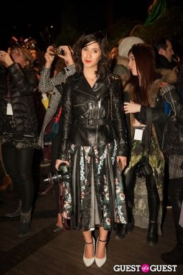 krystal bic in NYC Fashion Week FW 14 Street Style Day 5