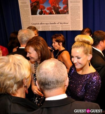 lally weymouth in Washington Post Pre-WHCD Reception