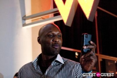 lamar odom in Power Balance Poker Tournament & Party
