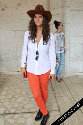 lana modyle in NYFW Style From the Tents: Street Style Day 4