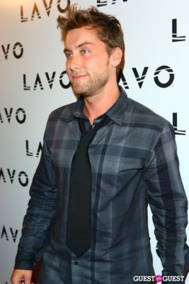 lance bass in Grand Opening of Lavo NYC