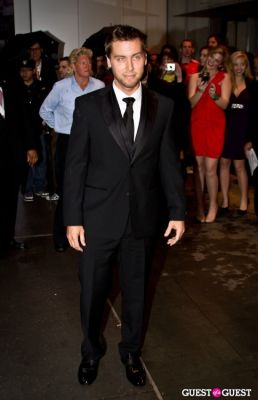 lance bass in Annual Amfar Foundation Benefit at the MoMA
