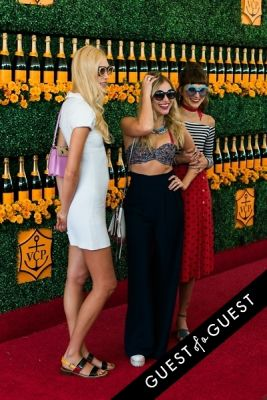 langley fox-hemingway in The Sixth Annual Veuve Clicquot Polo Classic Red Carpet