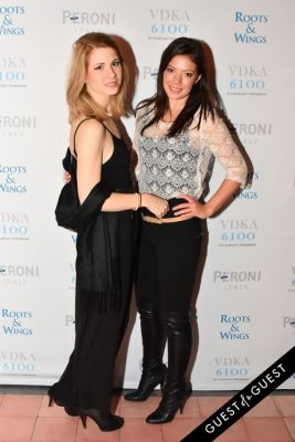 lara maric in The 4th Annual Silver & Gold Winter Party to Benefit Roots & Wings