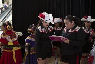 larissa ballardo in The Shops at Montebello Hispanic Heritage Month Event
