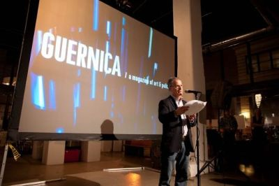 larry siems in Guernica Magazine 5 Year Bash