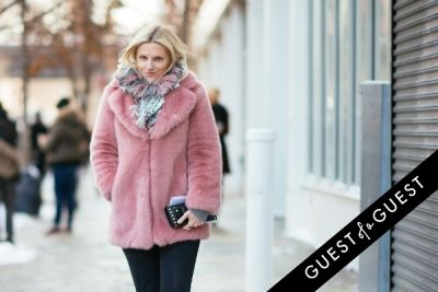 laura brown in NYFW Street Style Day 6