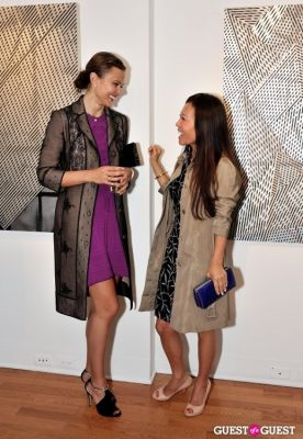 candice ku in James Stroud: OPEN CITY Exhibition Opening at Galerie Mourlot