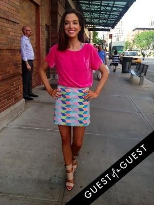 laura ruof in Summer 2014 NYC Street Style