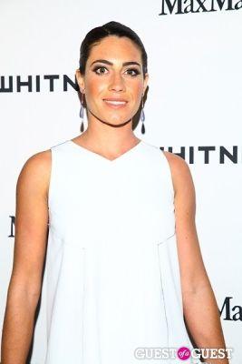 laura de-gunzburg in 2013 Whitney Art Party
