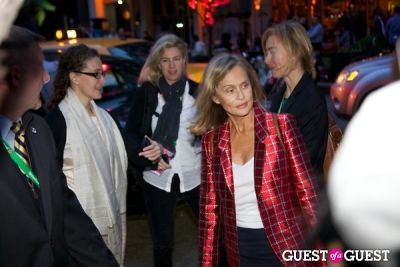 lauren hutton in Chanel Tribeca Film Festival Dinner