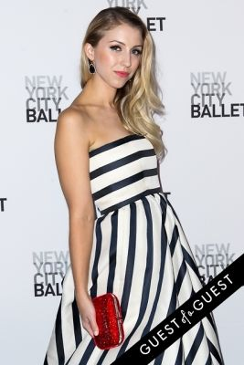 lauren keefe in NYC Ballet Fall Gala 2014