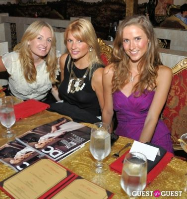 DC Modern Luxury Magazine's Lindsey Becker's Dinner for 25 Tastemakers at SAX