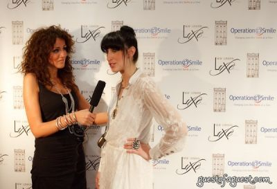 lauren rae-levy in New London Luxe and Operation Smile's Shop for the Cure I - Red Carpet